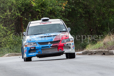 Rally Barbados 2016 - Mark Thompson, Kurt Seabra