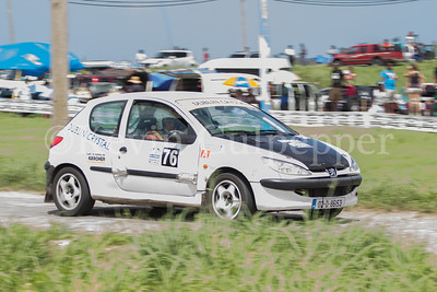 Rally Barbados 2016 - Peter Gallagher, Rene Forde