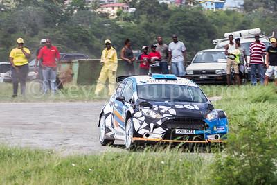 Rally Barbados 2016 - Elfyn Evans, Craig Parry