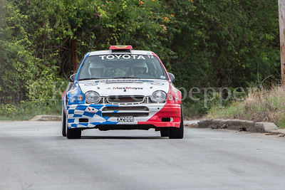 Rally Barbados 2016 - Roger Hill, Graham Gittens