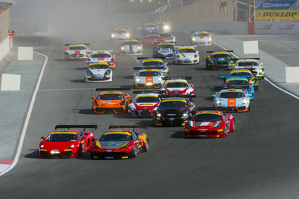 2012 Dunlop 24Hours of Dubai. 12-14 Jan, 2012