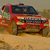 Joan Roma & Rudy Briani in a Repsol Mitsubishi Ralliart, Mitsubishi Pajero EVO ~ UAE Desert Challenge 2007