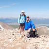 Mt Sherman with Stacy-1000162