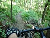 Perfect machine for this!  This bike carves singletrack !