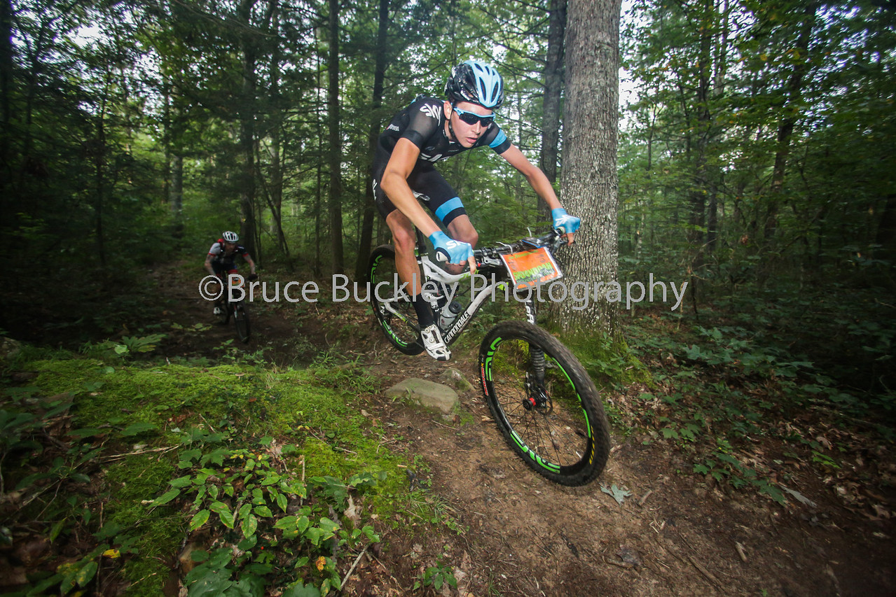 Dombroski started his racing pursuits as a mountain biker and proved that he still remembers how to carve through Virginia singletrack.