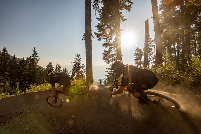 David Kenworthy and Eduard Dyck - Whistler Bike Park
