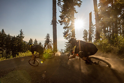 David Kenworthy and Eduard Dyck - Whistler Bike Park