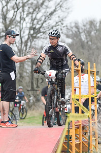 Hill Country Sports Association's Triple Threat Mountain Bike Series rolled underway at McAllister Park in SATX on February 19, 2017. Over 50 racers of all levels competed in the event, the first of three events planned this year. (Neptune9 Photography/ Andrew Patterson)