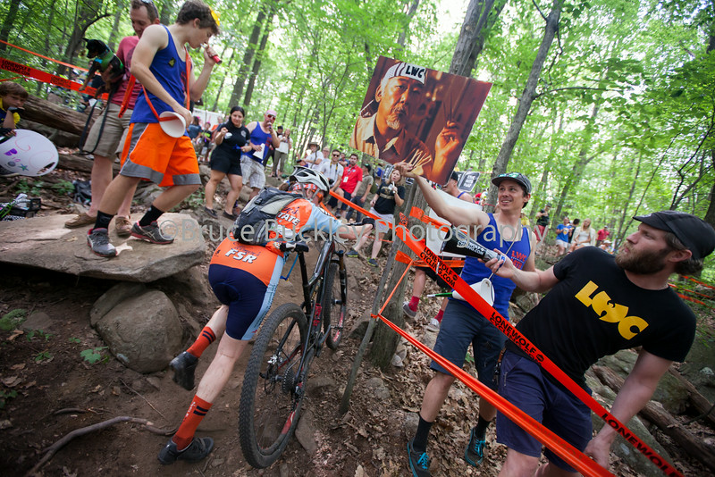 To navigate the Heckle Pit, Lone Wolf Cycling strongly suggests that you channel your inner Miyagi.