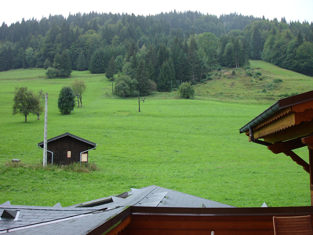 View from room in Morzine, France