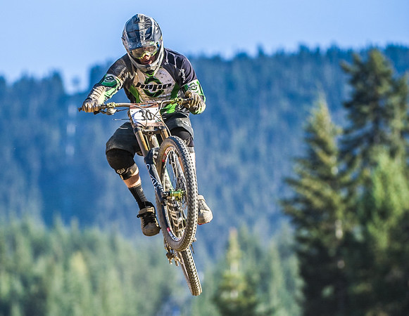 Adam Brayton of Great Britain competes in the Garbanzo DH held at Whistler, British Columbia, Canada during Crankworx 2013, on August 13th, 2013. Photo by: Stephen Hindley/SPORTDXB ©