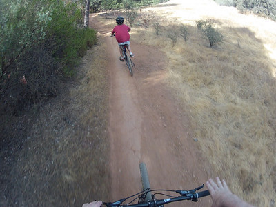 © Joseph Dougherty. All rights reserved.  Mountain biking at Foresthill Loop.