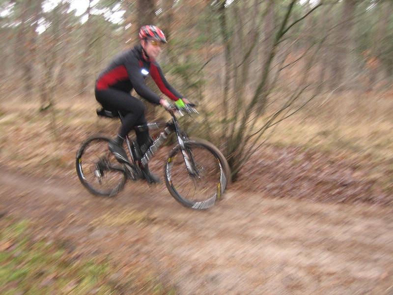 Jeroen (Jo Mann, Best, MTB-track Feb 2009)