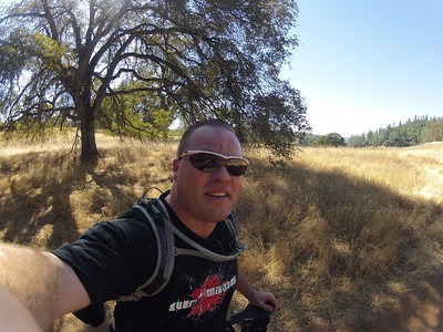 © Joseph Dougherty. All rights reserved.  Mountain biking at Foresthill Loop, October 2012.