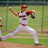 "Fairview's Ryan Madden pitches at the top of the fifth inning on Friday, July 6, during a baseball game against Mountain Range at Fairview High School in Boulder. For more photos of the game go to <a href=""http://www.dailycamera.com"">http://www.dailycamera.com</a>"