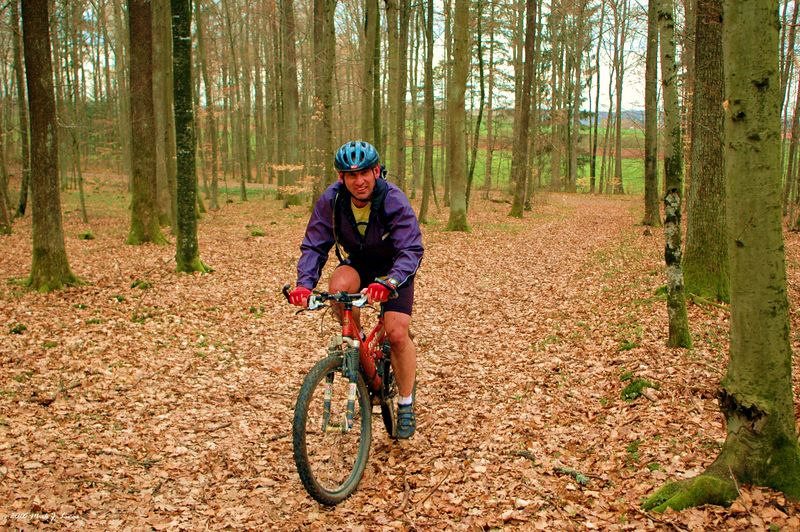 George, my MB buddy in Holzgerlingen, on one of our typical 5 hour rides