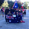 Australian team at opening ceremony. pic 2