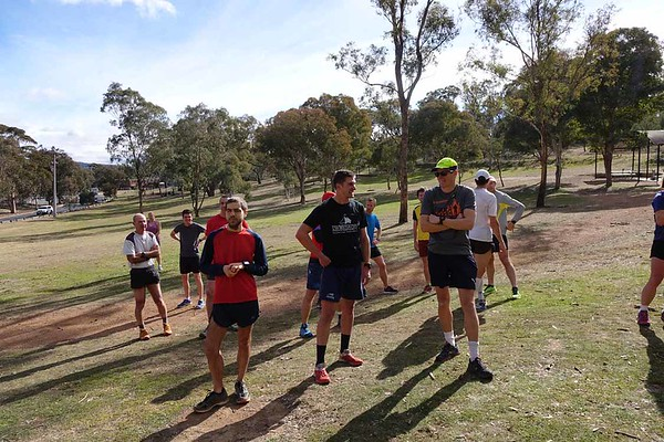 4 July 2017 Mt Ainslie Run Up