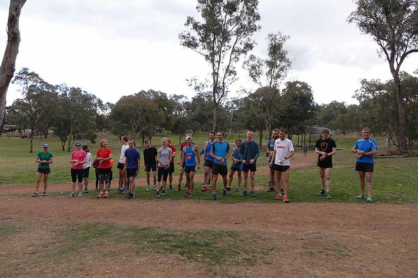 6 June 2017 Mt Ainslie Run Up