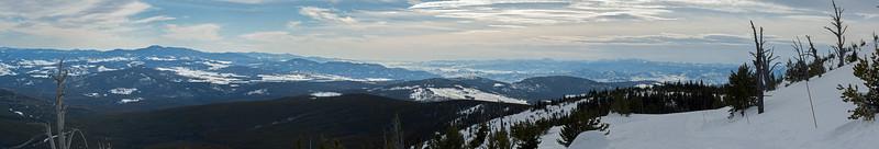 Mt Baldy view 01 pan (Southwest)