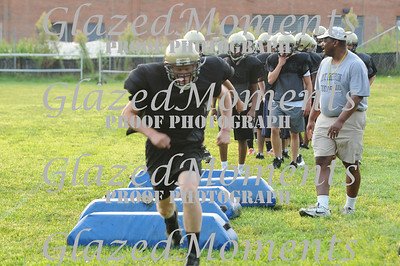 Mt Hebron Football Tryouts 2011