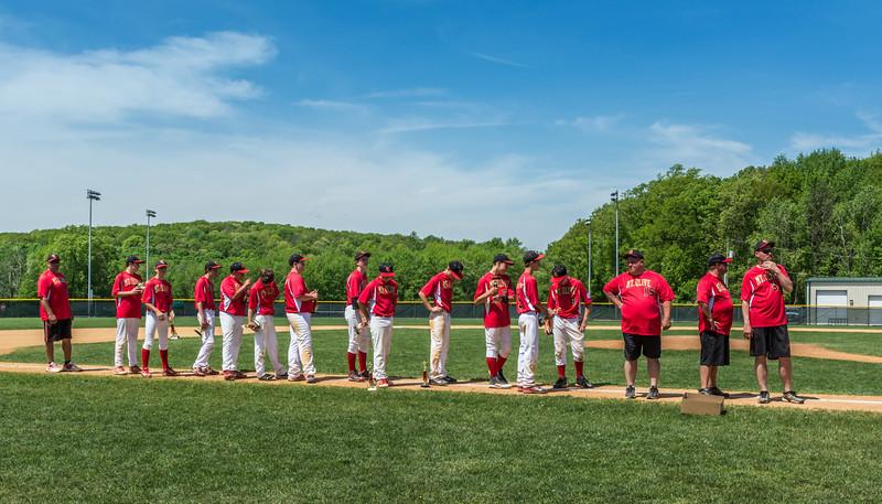 Mt Olive VS Long Valley Baseball - May 26, 2014