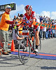 Ned Overend, of Durango, Colorado, celebrated his 56th birthday by winning The 39th Annual Mt. Washington Auto Road Bicycle Hillclimb, which was held on August 20st, 2011, in Gorham, New Hampshire. Cyclists raced up the grueling 7.6 mile Auto Road course, to the 6,288' summit of Mt. Washington, the highest peak in the Northeastern United States. Overend's winning time was 55:03.