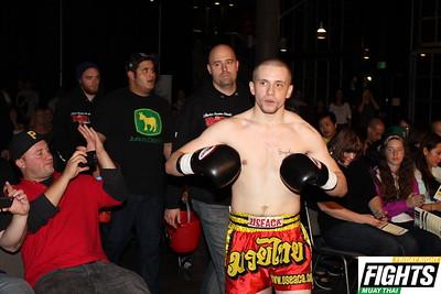 Roger Kremer (2-1) of Elite Muay Thai in Kirkland.