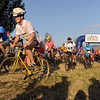 "The bike riders were the first to start out, with the runners following 2 minutes later.<br /> The Muddy Buddy Ride and Run requires a 2-person team to finish a 6-7 mile course with 5 obstacles. One member will ride and one will run, but they need to finish together. The race was held at the Boulder Reservoir on Sunday.<br />  For more photos and a video, go to  <a href=""http://www.dailycamera.com"">http://www.dailycamera.com</a>.<br /> <br /> <br /> Cliff Grassmick / August 16, 2009"