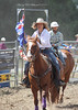Elle Hamilton from Murrumbateman was the Flag-Bearer for the opening ceremony at the first rodeo since 1965 in her home town.