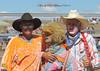 """Matt Darmody and Duncan Bennet-Burleigh with """"Ernie"""" at Murrumbateman Rodeo 2013"""
