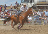 Elle Hamilton competing in the Barrel Race at Murrumbateman Rodeo 2013.