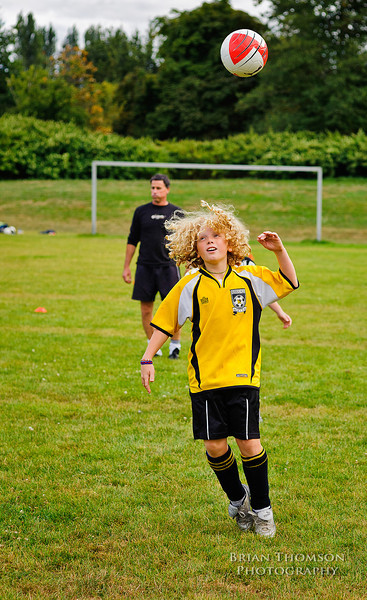 Musqueem Soccer Practice - 15 Sept 2011