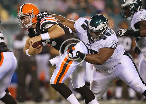 NFL: Preseason-Cleveland Browns at Philadelphia Eagles