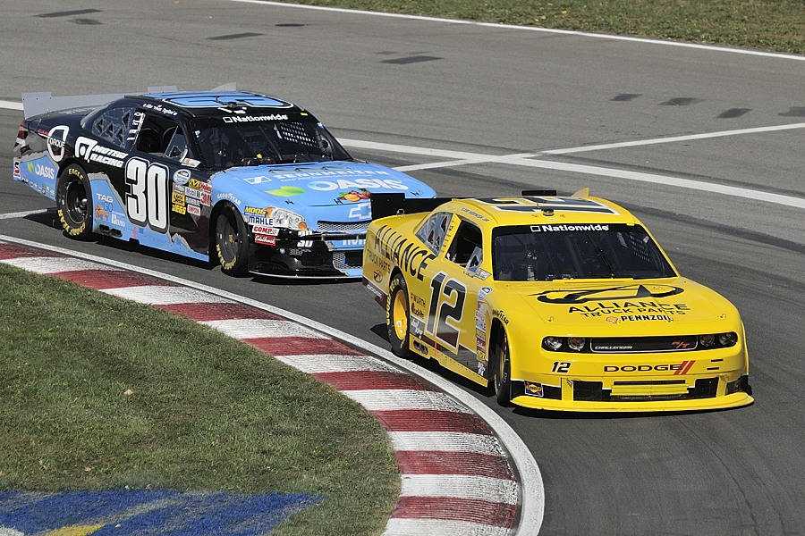 Tagliani will stay behind Hornish / Tag restera derrière Hornish.