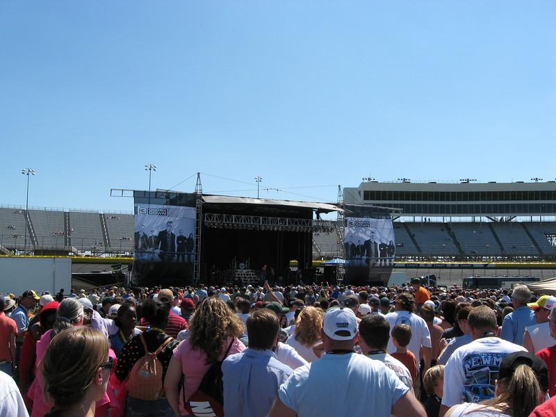 3 Doors Down in concert.