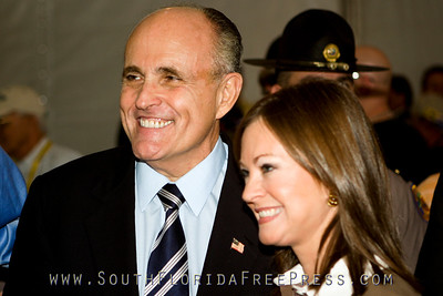 Former Mayor of NYC and Presidential candidate, Rudy Giuliani