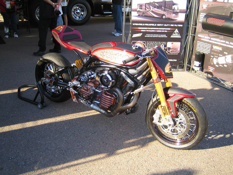 K & N motorcycle