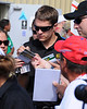 NASCAR Sprint Cup Series driver, David Ragan, signs autographs for fans, prior to The Sylvania 300, at New Hampshire Motor Speedway, in Loudon, NH. on September 25th, 2011.