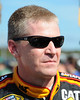 NASCAR Sprint Cup Series driver, Jeff Burton, waits for the start of the National Anthem, prior to the start of The Sylvania 300, at New Hampshire Motor Speedway, in Loudon, NH. on September 25th, 2011.