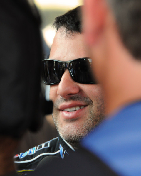 Nascar Sprint Cup Series driver Tony Stewart, chats with media, on Friday, September 23rd, 2011, in preparation for the Sylvania 300 race, held on September 25th, at New Hampshire Motor Speedway, in Loudon, NH.