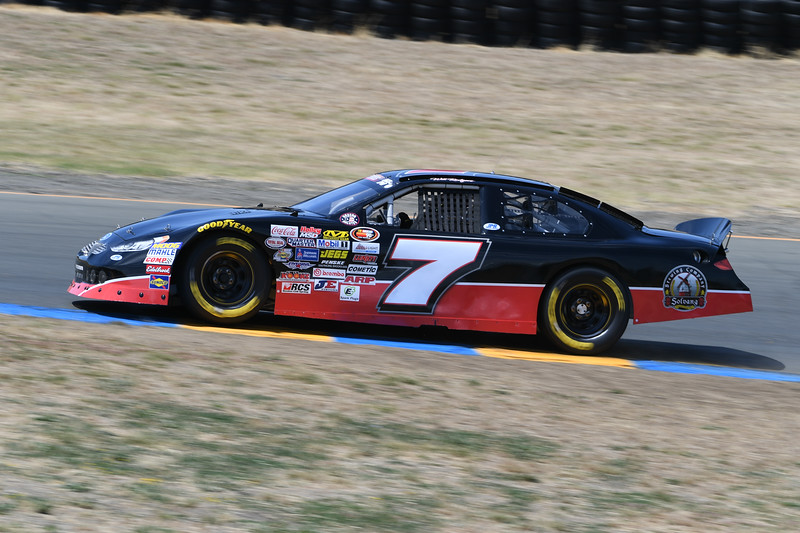 #7 Will Rodgers at 2017 Carneros 200