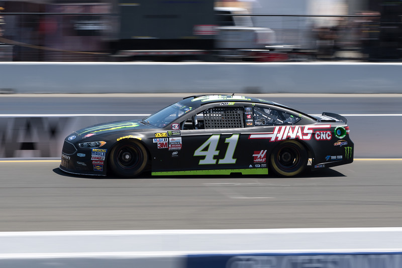 #41 Kurt Busch at 2017 Toyota/Save Mart 350 Qualifying