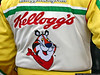 Tony the Tiger! The back of Terry Labonte's firesuit.