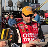 Driver Tony Stewart at the 2011 Southern 500 ~ Darlington Raceway <br /> Images by Martin McKenzie