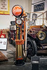 GAS PUMP WITH 1910 TOURING CAR MODEL 30 UC