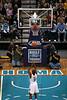 Chris Paul III shooting a free throw
