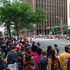 The scene at East 9th Street and Superior Avenue,  three hours before the Cavs victory parade.  (Photo by David S. Glasier)
