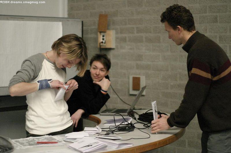 De organisatiecommissie, Femke and Nan