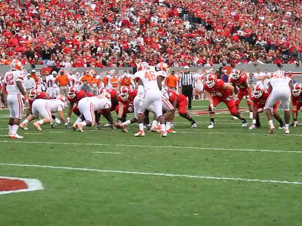 George Bryan touchdown catch against Clemson.